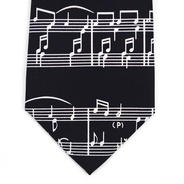 Boy's Music Notes Novelty Tie BN2607-T