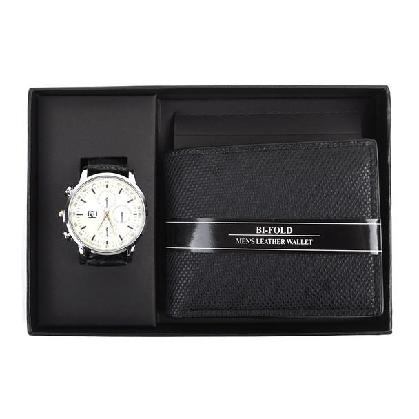 12pc Assorted Pack Black Watch & Wallet Sets WW2020BK