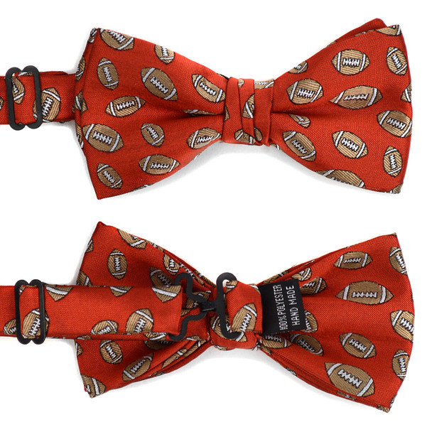 Men's Football Banded Bow Tie