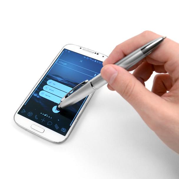 12pc Men's Black Bi-Fold Wallet & 2 Touch Screen Stylus Pens Set WPB17120