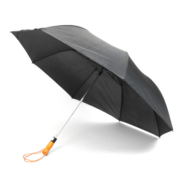 12pc Pack Black Telescopic Canopy Umbrella with Wooden Handle UM1702