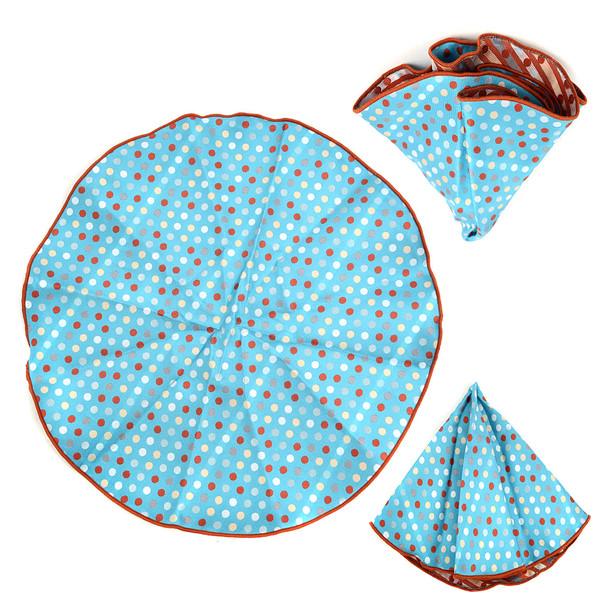 Polka Dot Tie & Matching Pocket Round Set MPWTH170632