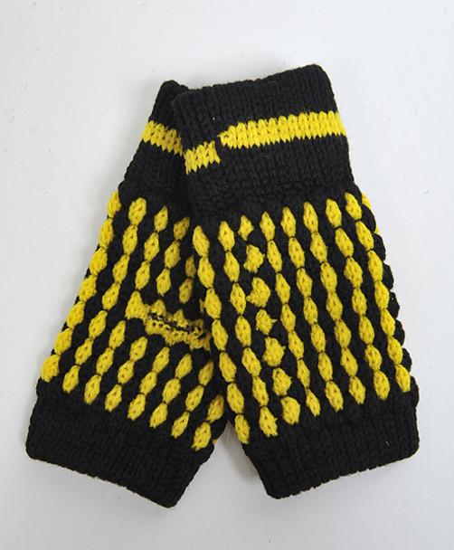 12pair Pack Women's Knit Fingerless Gloves GL1302