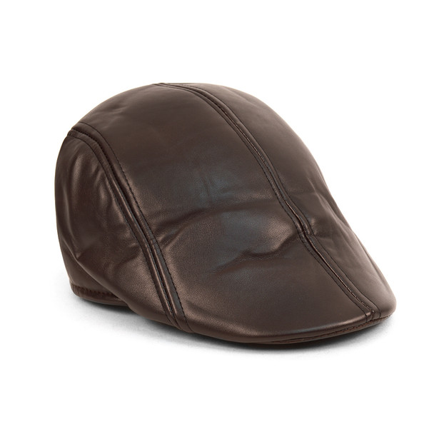 Fall/Winter Traditional Leather Ivy Hat - IFW1720