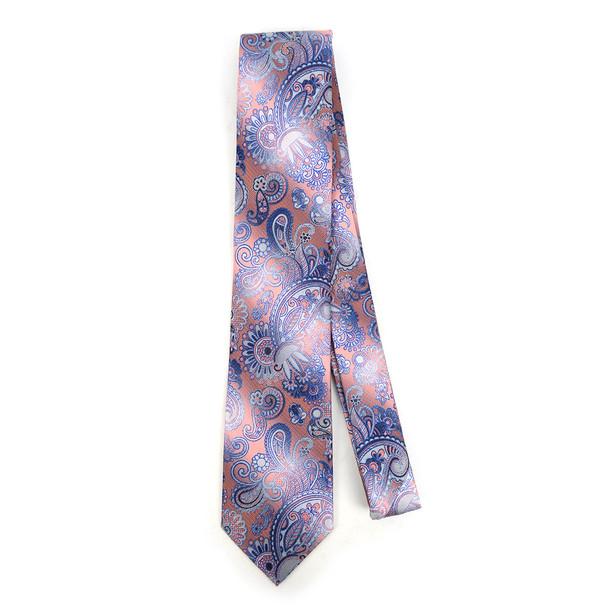 Paisley Microfiber Poly Woven Tie - MPW5929