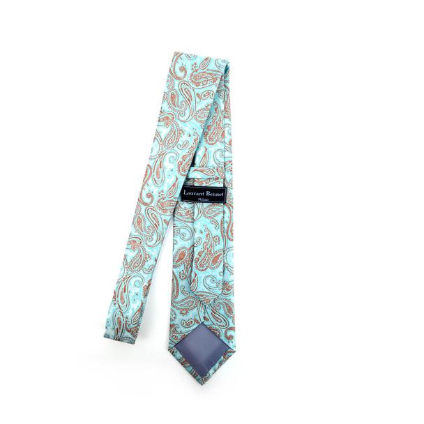 Paisley Microfiber Poly Woven Tie - MPW5919