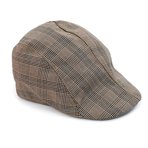 Spring/Summer Plaid Ivy Hat - ISS1817