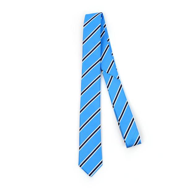 "Striped Microfiber Poly Woven 2.25"" Slim Tie - MPWS5902"