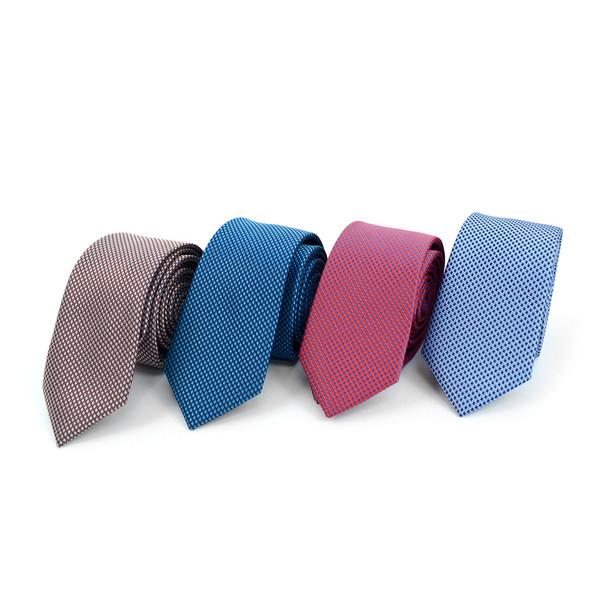"Dots Microfiber Poly Woven 2.25"" Slim Tie - MPWS5920"