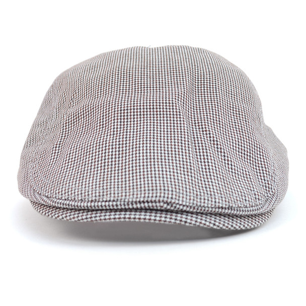 Spring/Summer Hound's Tooth Classic Ivy Hat - ISS1811
