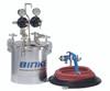 HVLP COMPACT 2 Quart Pressure Pot Outfit - HVLP2QTPPA300