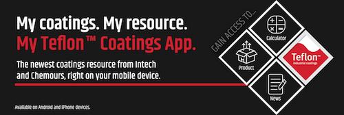 The My Teflon™ Coatings App Saves You Time!