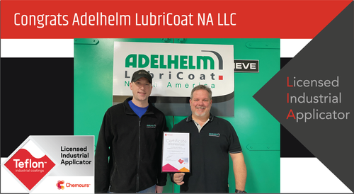Intech Services Congratulates Adelhelm LubriCoat on Becoming LIA-Certified