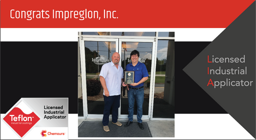 Intech Services Thanks Impreglon Surface Technology Group for Its Service as an LIA