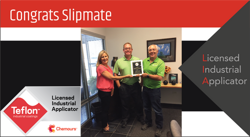 Intech Services Thanks Slipmate for Its Service as an LIA