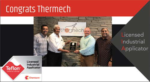 Intech Services Thanks Thermech Engineering Corporation for Its Service as an LIA