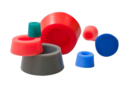 Silicone Hollow Tapered Plug Kit