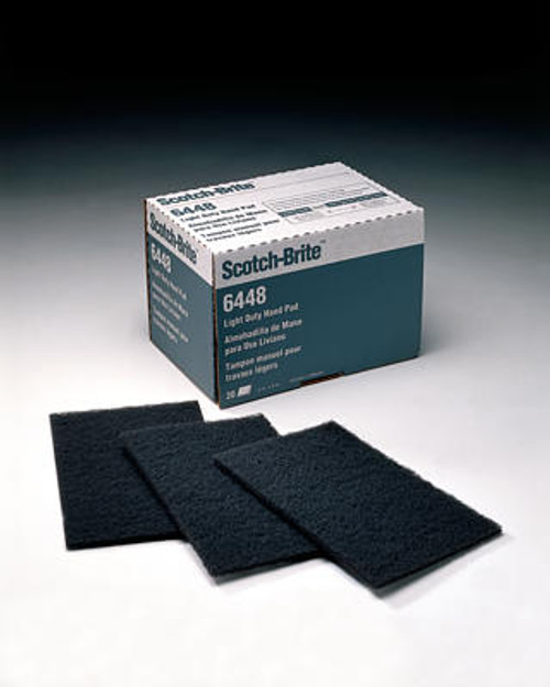 ScotchBrite Light Duty Hand Pad 6448 - 3M-048011-16556