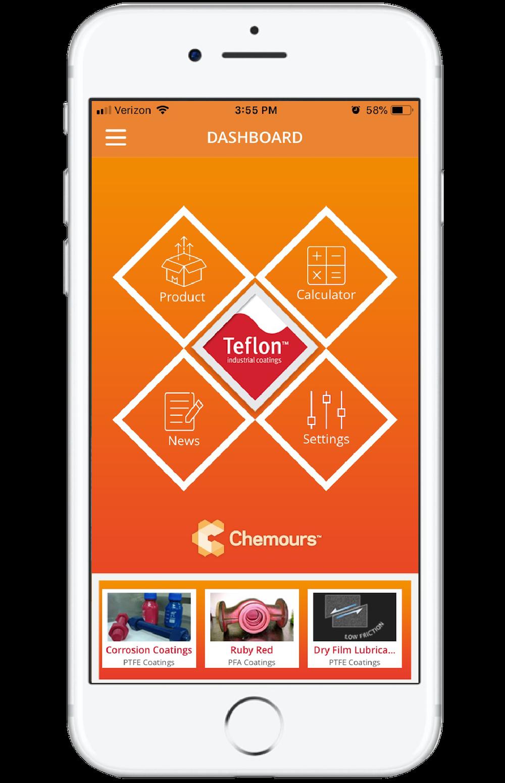 My Teflon App: Teflon information, Teflon products, Teflon markets, Teflon properties, and more