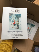 Winter Semester Print Version - First Grade Curriculum - Series 2 of 3 Print Books