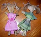 Create Cornhusk Dolls with Your Children