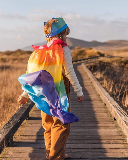 Sarah Silk's Rainbow Cape