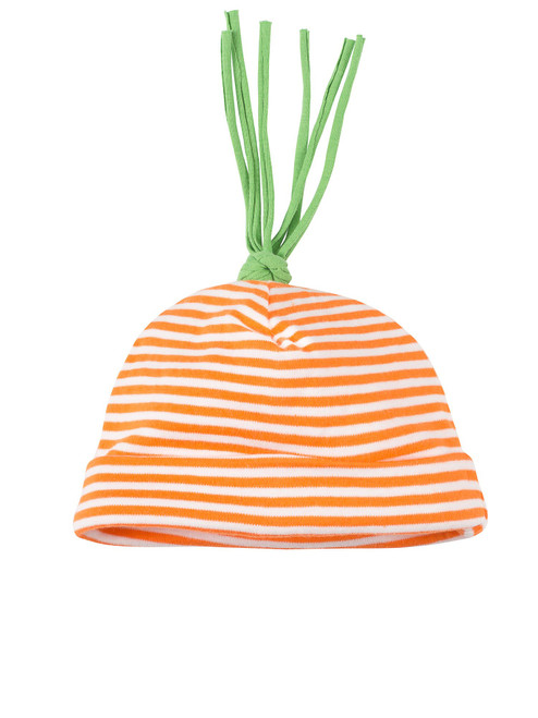 Carrot Top Stripe Beanie Hat