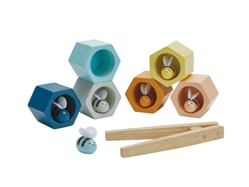 Beehive Toy - Wooden Fine Motor Skills Play