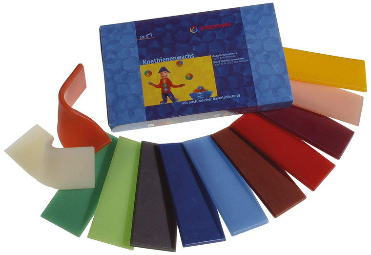 Stockmar Beeswax Modeling Material (Large Assortment, 12 Colors)