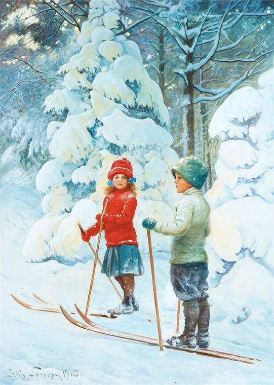 Winter Semester Digital Version - First Grade Curriculum - Series 2 of 3 Digital Books