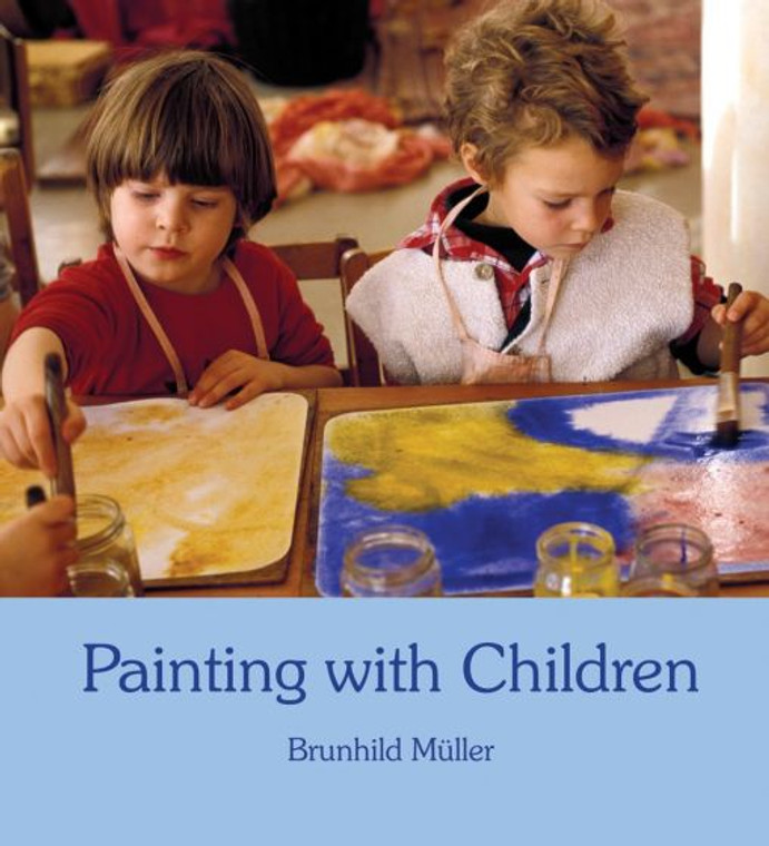 Painting with Children Book by Brunhild Müller