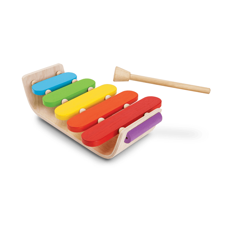Oval Xylophone - Wooden Musical Instrument Toy