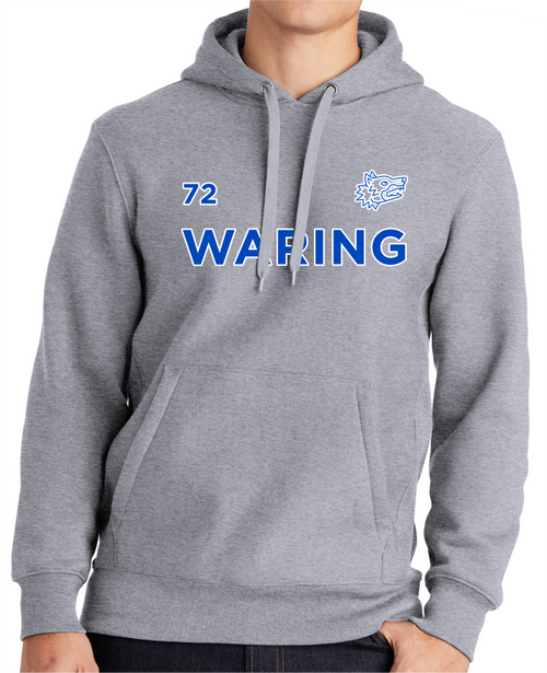 Waring Wolf Pack Super Heavyweight Pullover Hooded Sweatshirt