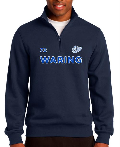 Waring Wolf Pack 1/4-Zip Sweatshirt