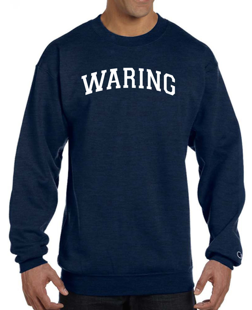 Waring School  Recycled Poly Pullover Crew Champion