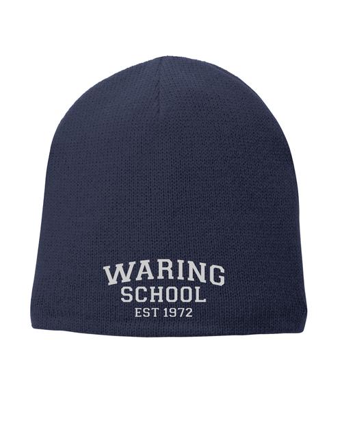 Waring School Retro Beanie hat.