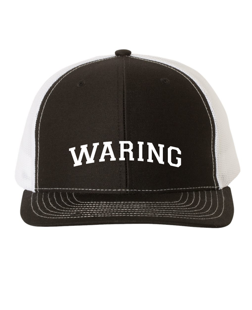 Waring School trucker hat.