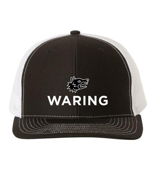 Waring Wolf  trucker hat