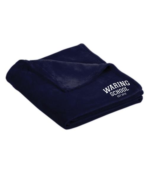 Waring School Plush Blanket