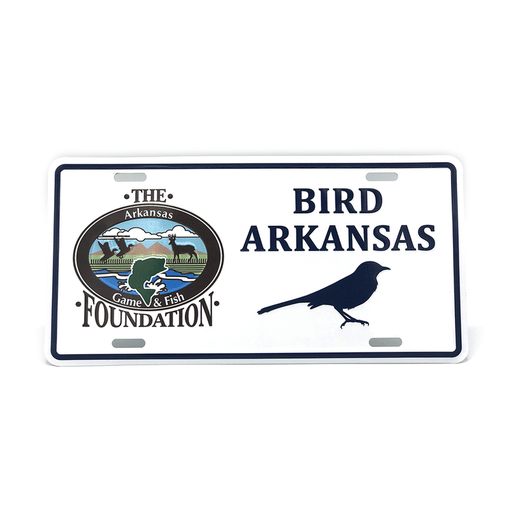Bird Arkansas License Plate