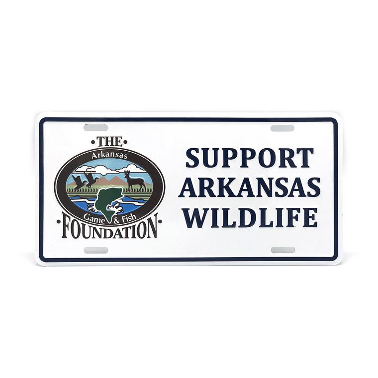 Support Arkansas Wildlife License Plate