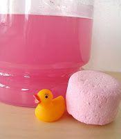 Hidden duckie in bath bomb