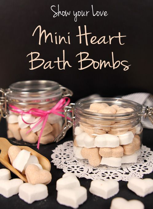 Tutorial - Making your Mini Fizzy hearts