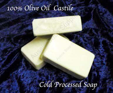 100% Olive Oil Castile Hand made natural soap