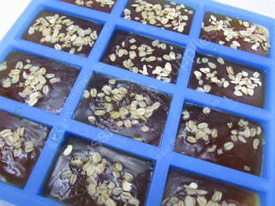 Wildflower Honey Oats and Yoghurt Cold Process Soap