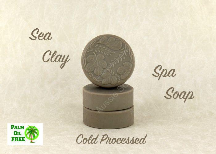Hemp and Sea Clay Cold Process Spa Soap
