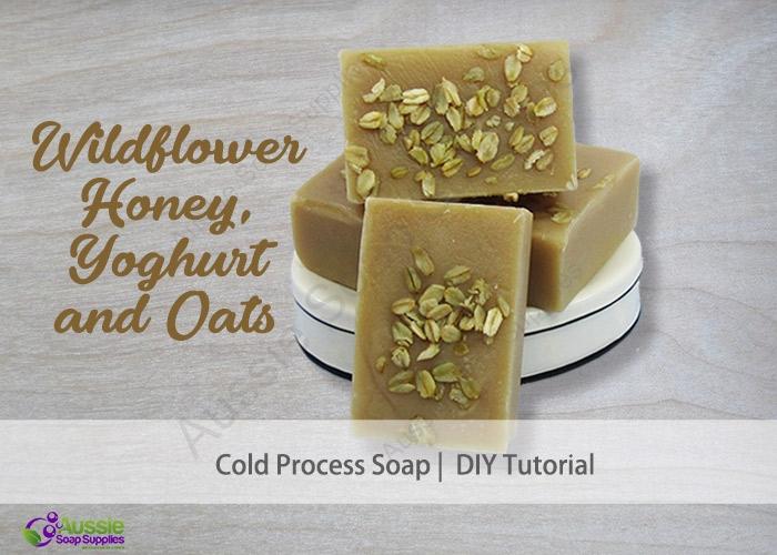 WILDFLOWER HONEY & OATS COLD PROCESS SOAP RECIPE
