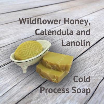 Wildflower Honey Lanolin Natural Soap