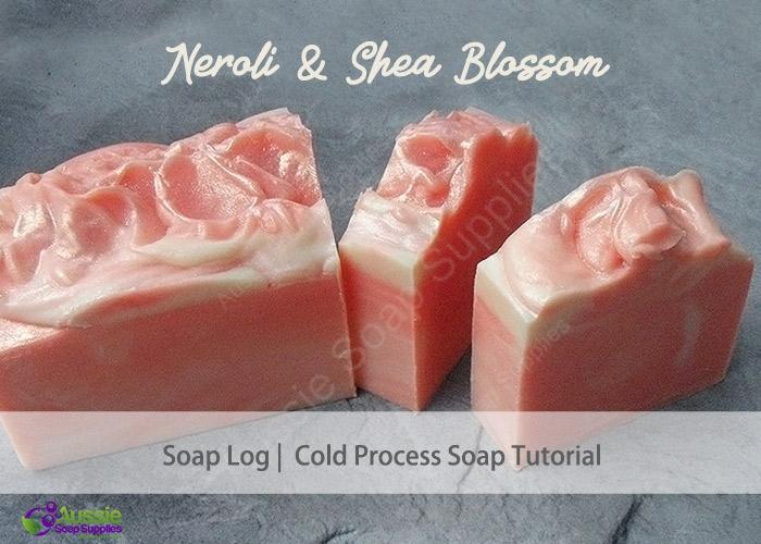 Neroli & Shea Butter Cold Processed Soap Loaf