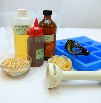 Hemp, Calendula and Lanolin Cold Process Soap